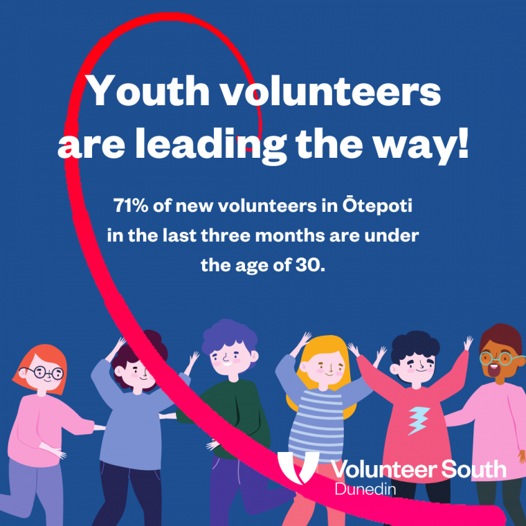 Youth lead the way in volunteering!