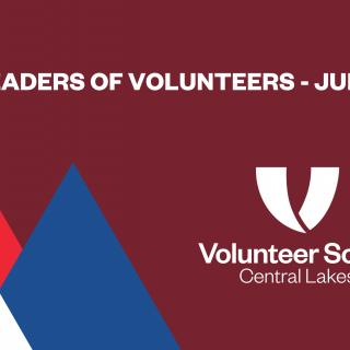 Central Lakes Leaders of Volunteers (Online)